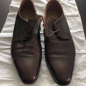 Burgundy Dress Shoes.